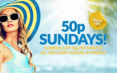 50p Sundays!