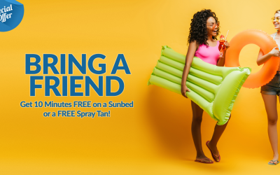 Bring a Friend and Get Free Sunbed Minutes or a Free Spray Tan