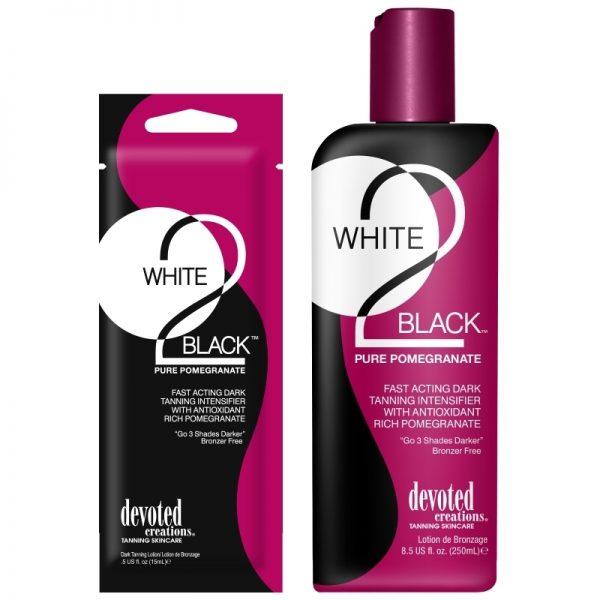 Devoted Creations White 2 Black Pure Pomegranate