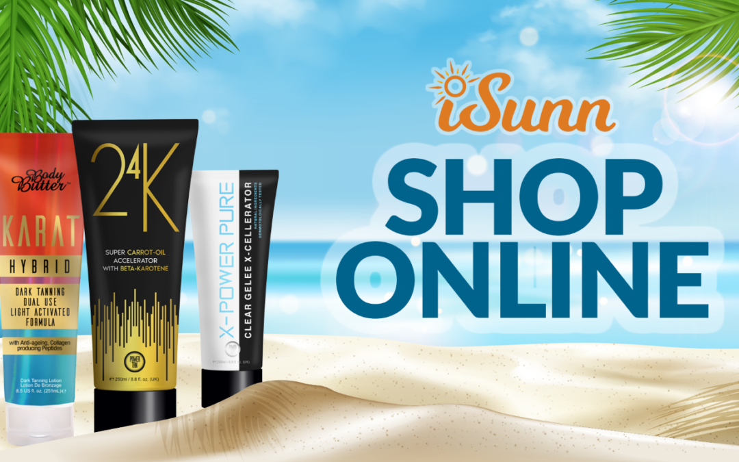 iSunn Launches Online Store for Tanning Products